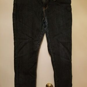 Denim - Girl JC Penny blue skinny jeans size 33/16